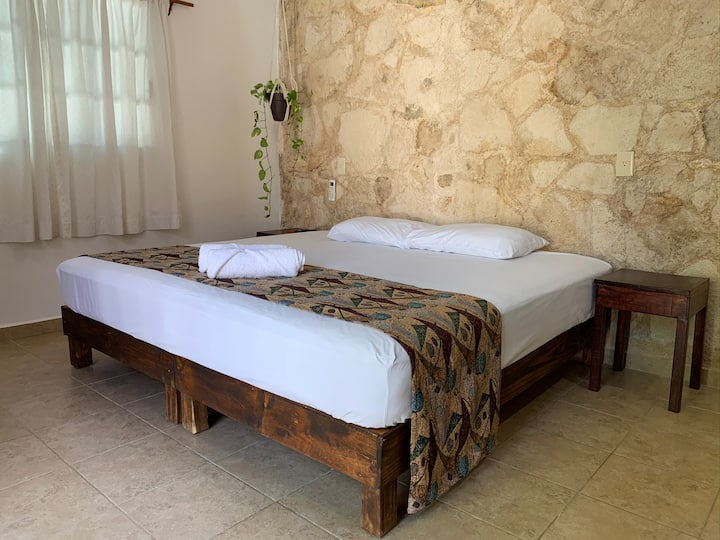 Mayan style privated studio near to touristic area