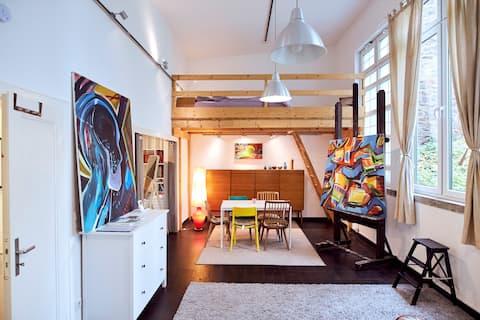 Atelierhaus / Loftwohnung