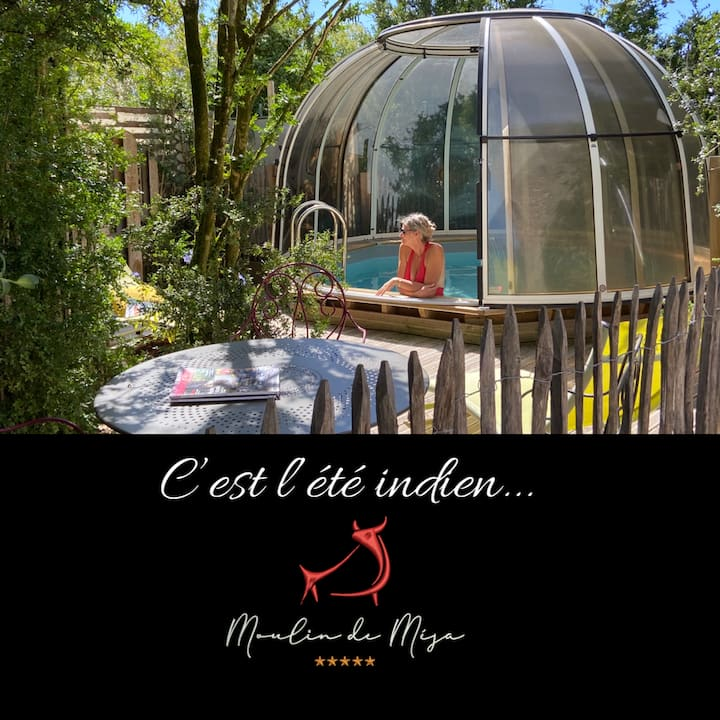 Le Moulin  -LOT-  Piscine privative