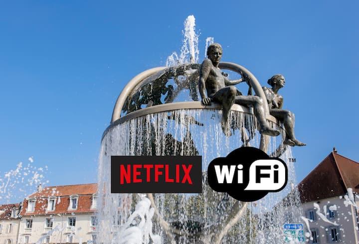 ★ Studio Marcel Aymé ★ Centre Ville - Wifi Netflix