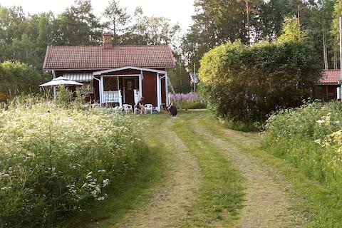 Bonita casa de campo para los amantes de la naturaleza y los ciclistas