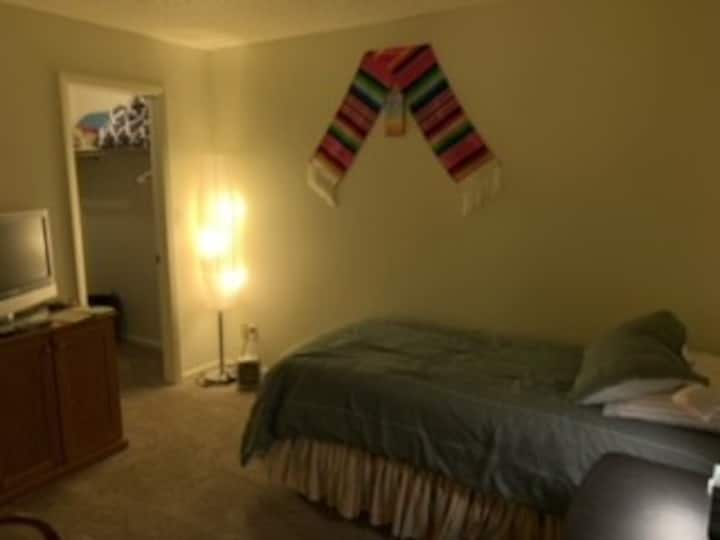 Room with private bathroom and near by amenities