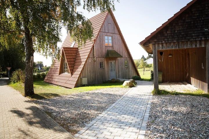 Ferienhaus für Familien auf dem Bioland-Hof Berg