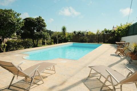 Village Home mit Pool undTerrasse 5 Minuten nach Ericeira
