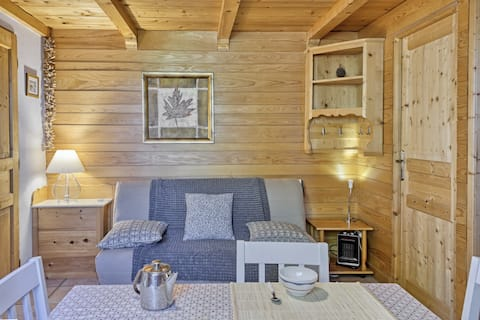 appartement privatif type chalet cosy et calme