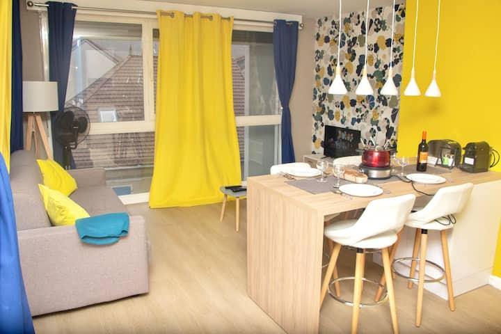 Appartement entre Genève et  Chamonix ★HyperCentre