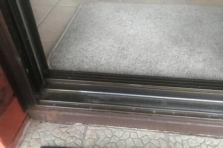 Just the door hinge to get over