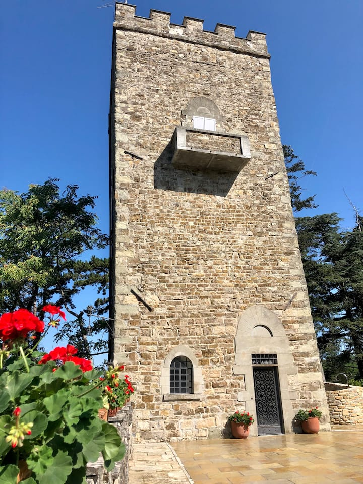 Medieval Tower near Florence
