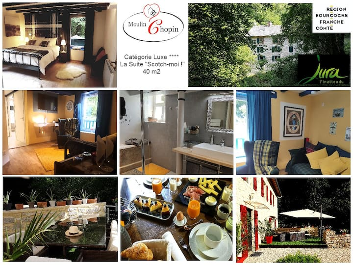 Le Moulin Chopin - Exceptional Guest-House