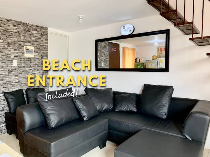 Two Roses Beach Staycation- Laiya, Batangas (6PAX)