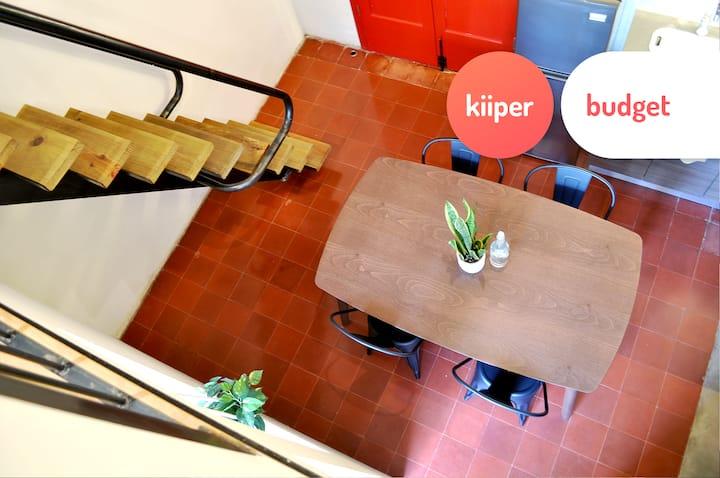 kiiper budget | Trendy Downtown Loft | 2 PPL