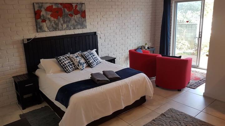 Luxury queen room on ground level