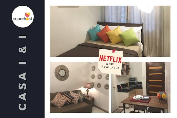 Casa I & I | Cozy 1BR | 30mbps | Netflix