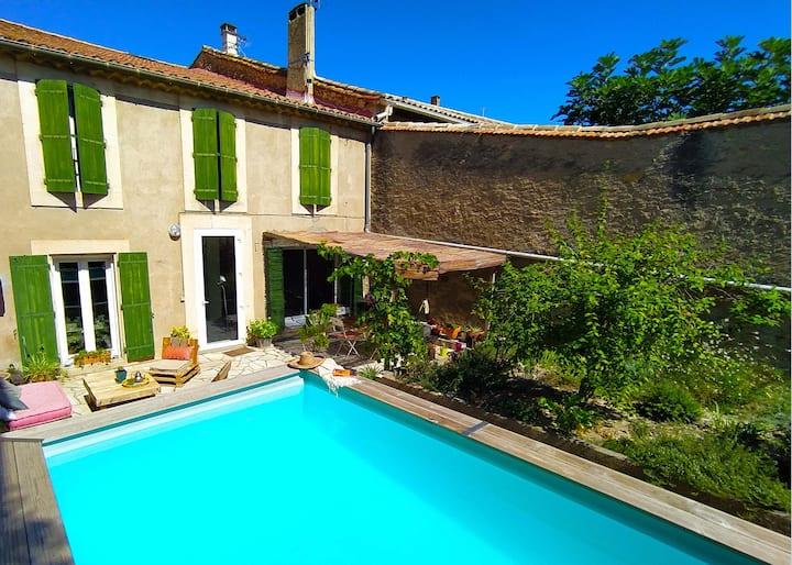 Chambre d'hôte Azur (piscine et jardin) à Quarante