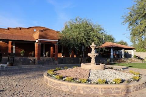 Hacienda Laureles Rio Bonito con alberca y jardín