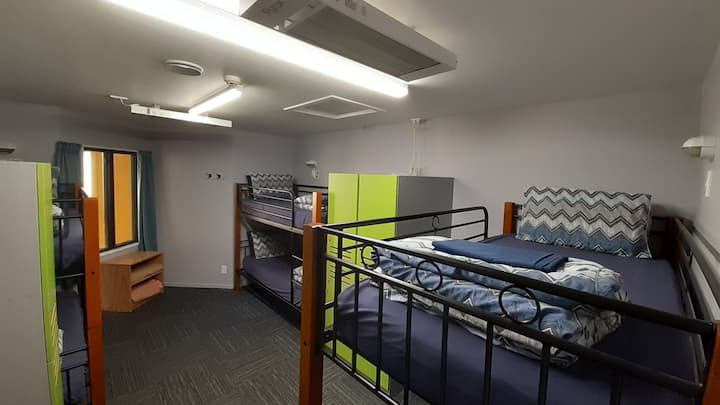 6 Bed Mixed Dorm - YHA Franz Josef