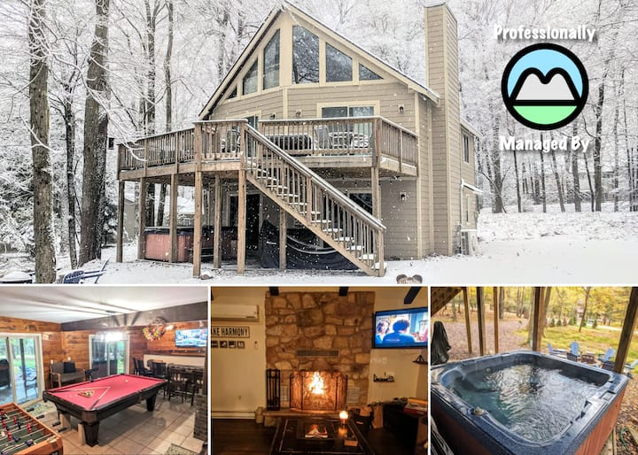 ⭐ The Getaway Chalet⭐ Family/Friend Getaway ⛰️🥾🔥
