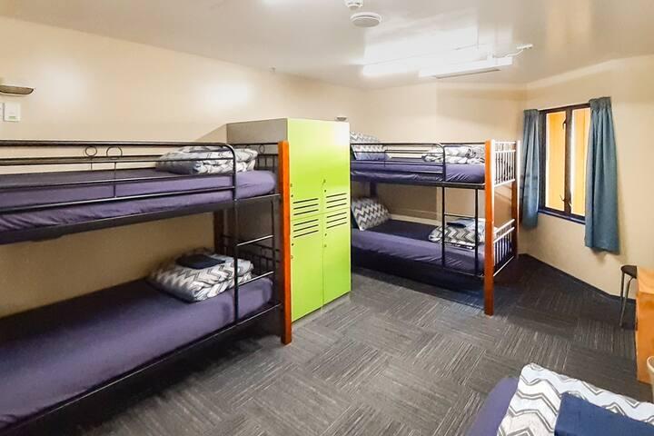 5 Bed Female Only Dorm - YHA Franz Josef