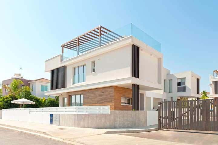 Pearly Sand Villa 3 Bdrm With Pvt Pool, Protaras