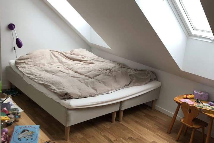 Kids room with double bed, first floor