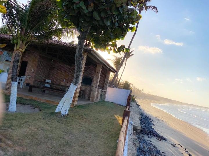 Casa Amarela - Sítio na Praia - Beira Mar