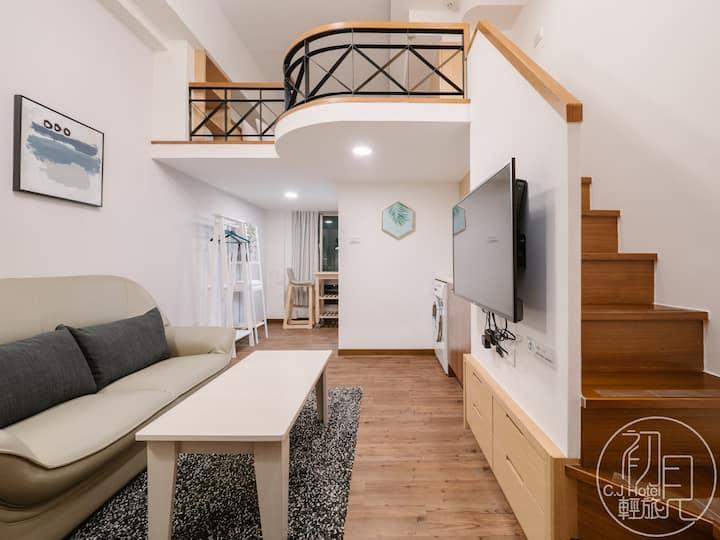 BEIMEN/XIMEN MRT - Duplex Apartment