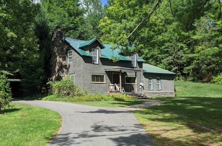 Brant Lake Adirondack Cabin