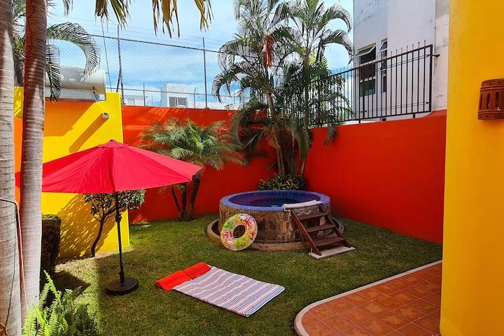 Increíble casa en Barra de Navidad Villa paraíso