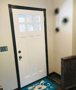 """Front door is 36"""" wide and the entrance way has plenty of room to maneuver."""