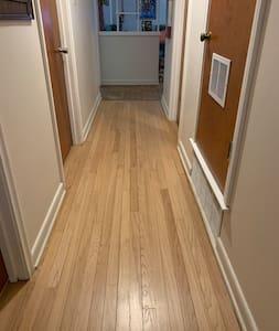 40 inch wide hallway