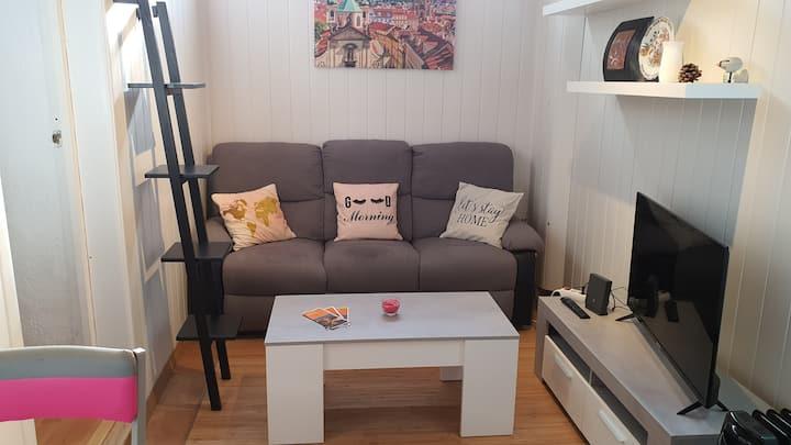 Apartamento bien comunicado en zona tranquila