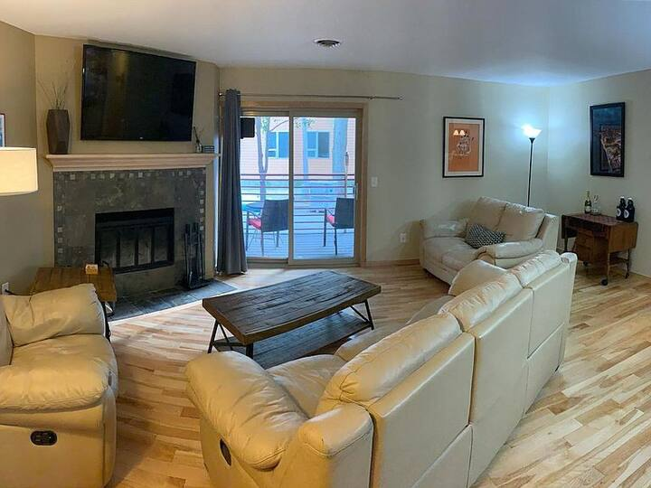 Condo near Capital Square and across from the Park