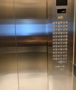 Take the elevator to the 5th floor,  room 54