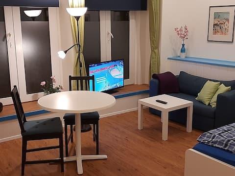 Modern apartment in Düsseldorf-Unterbilk, ground floor