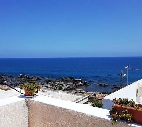 Maison S+3 vue sur mer à Kélibia