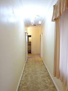Hallway from Entrance door