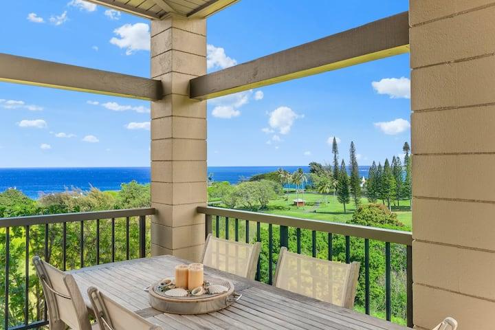 NEW Ocean View Kapalua Ridge Villa Luxury Sleeps 6