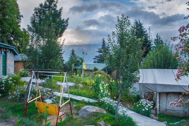 Swiss Tent | The Monk by Livingstone | Kalpa