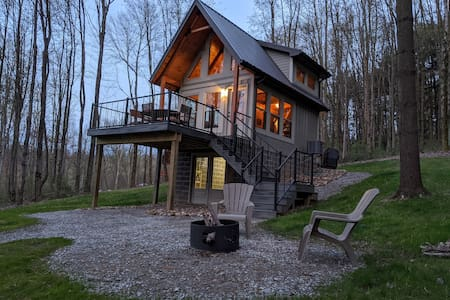 Cabin/Mohican - Private getaway!