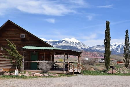 (St. Danes Cabins) - Big Horn Log Cabin Moab