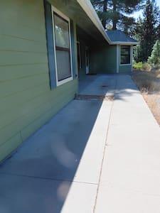 Flat walkway