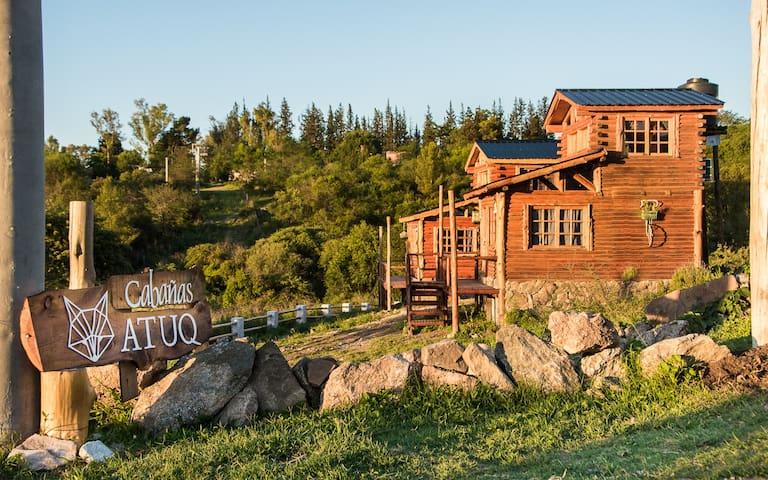 ATUQ, Cabaña #1. Experiencia de campo en la sierra