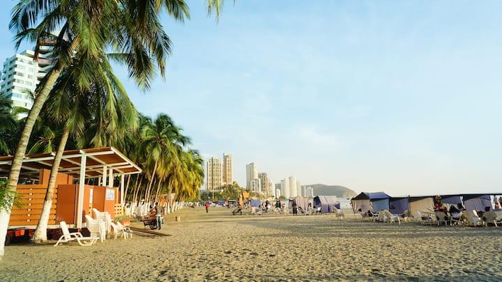Hostal Paraíso Tayrona: Casa de Playa en Rodadero