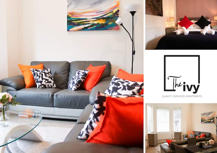 ✪  2 Bed Apt , Upto 6 Guests ✪ Family & Business ★