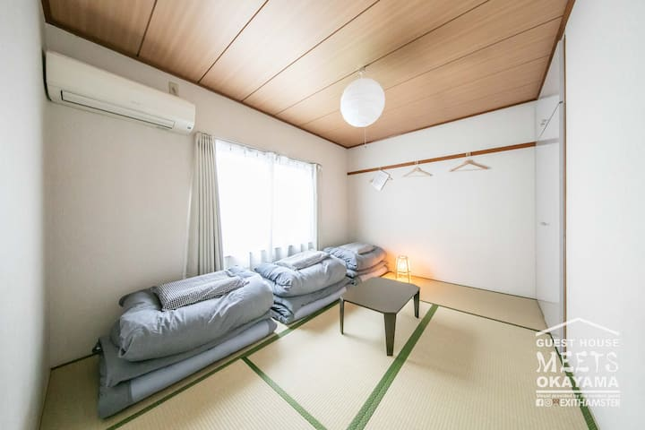 ゲストハウス MEETS 岡山・エコノミールーム