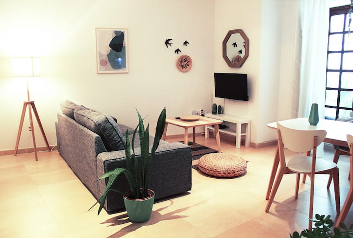 Fancy apartment in historic house, in city center