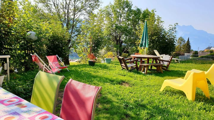 Chalet Plein soleil avec jardin privatif