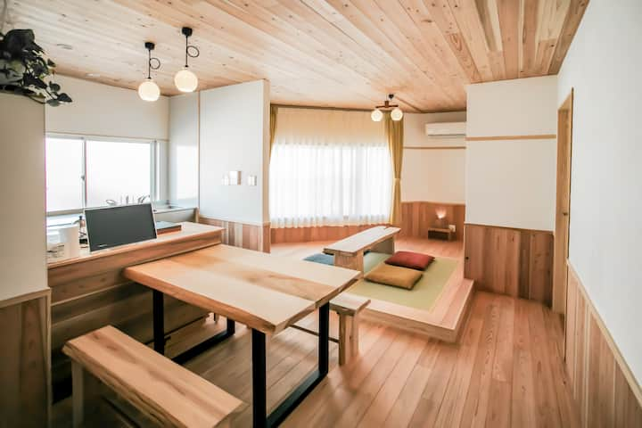 Mori no Yume - Guesthouse The place-based on wood.