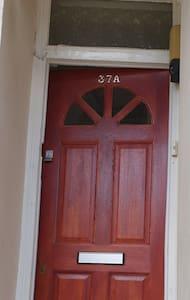 Front door has security light