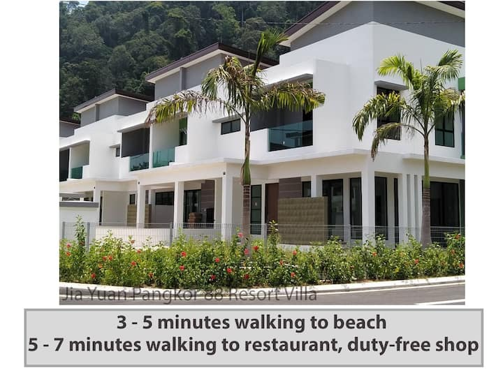 Jia Yuan Pangkor 88 Resort Villa 邦咯岛《家苑》海滩度假别墅